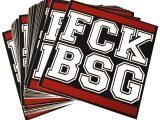 """Aufkleber """"FCK BSG"""""""