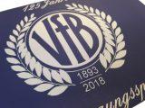 """Leinwand """"125 Jahre VfB Leipzig"""""""