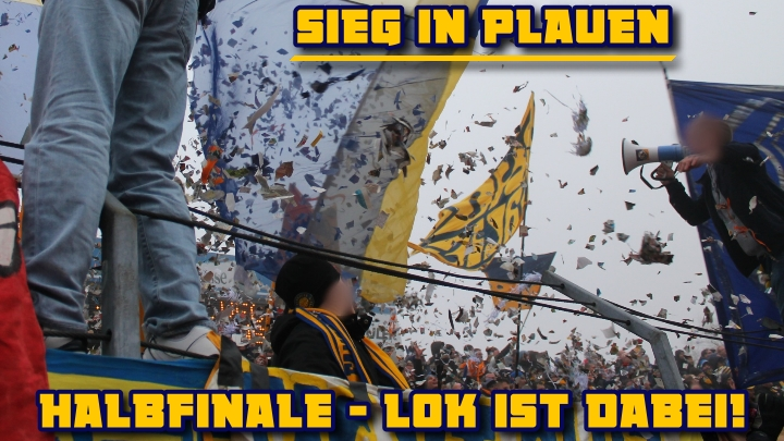 Pokal in Plauen