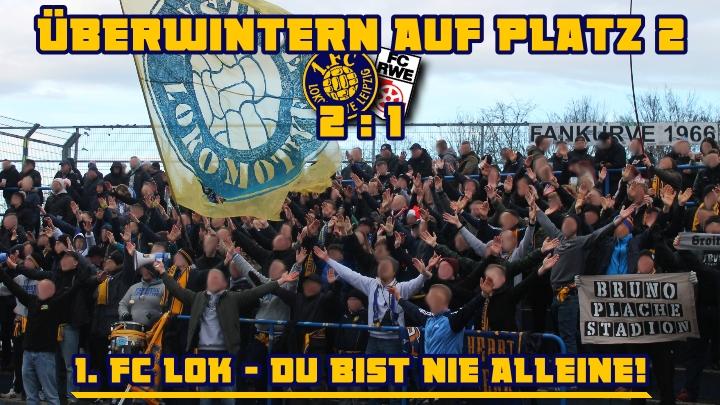 1. FC Lok – FC Rot-Weiß Erfurt
